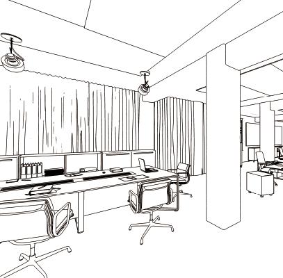 横浜女性起業家シェアオフィス&コワーキング|施設内イメージ