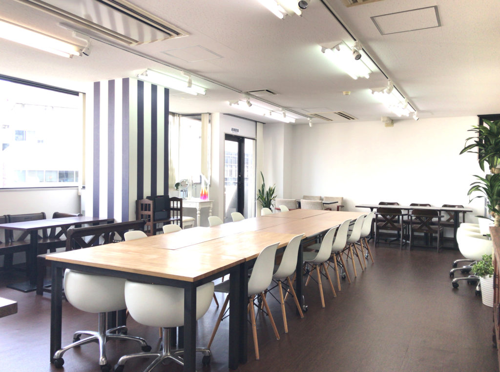横浜女性起業家シェアオフィス&コワーキングイベントスペース