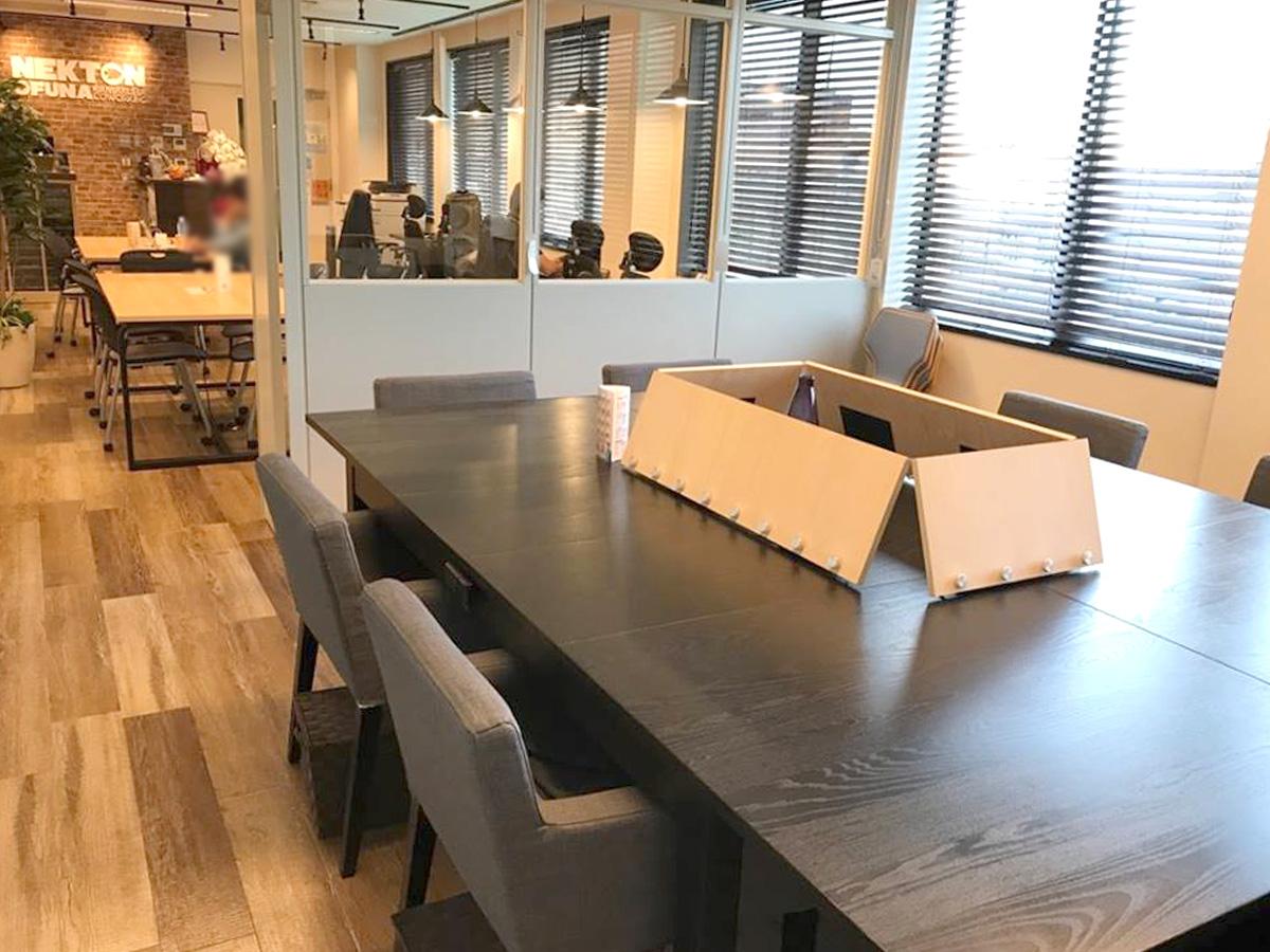 NEKTON大船 大船のコワーキングスペース 会議室