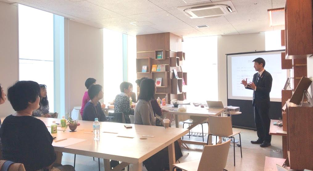ママの起業を応援する 3ヶ月間のビジネス講座(女性起業家講座)振り返り会 横浜市会議員古川なおき氏にお越しいただきました