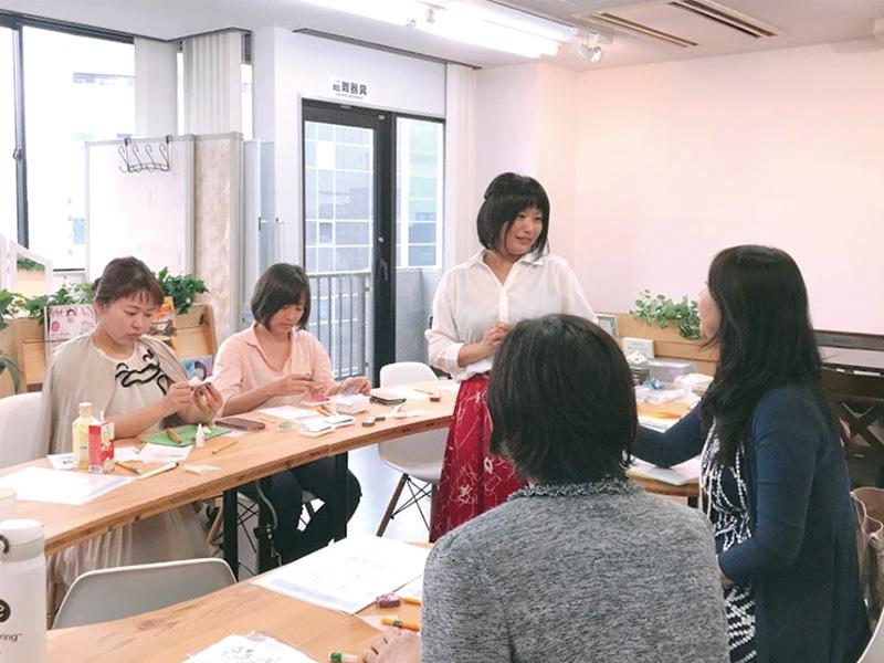 横浜女性専用コワーキングスペースワークショップ開催例