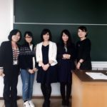 日本女子体育大学で講義をしました