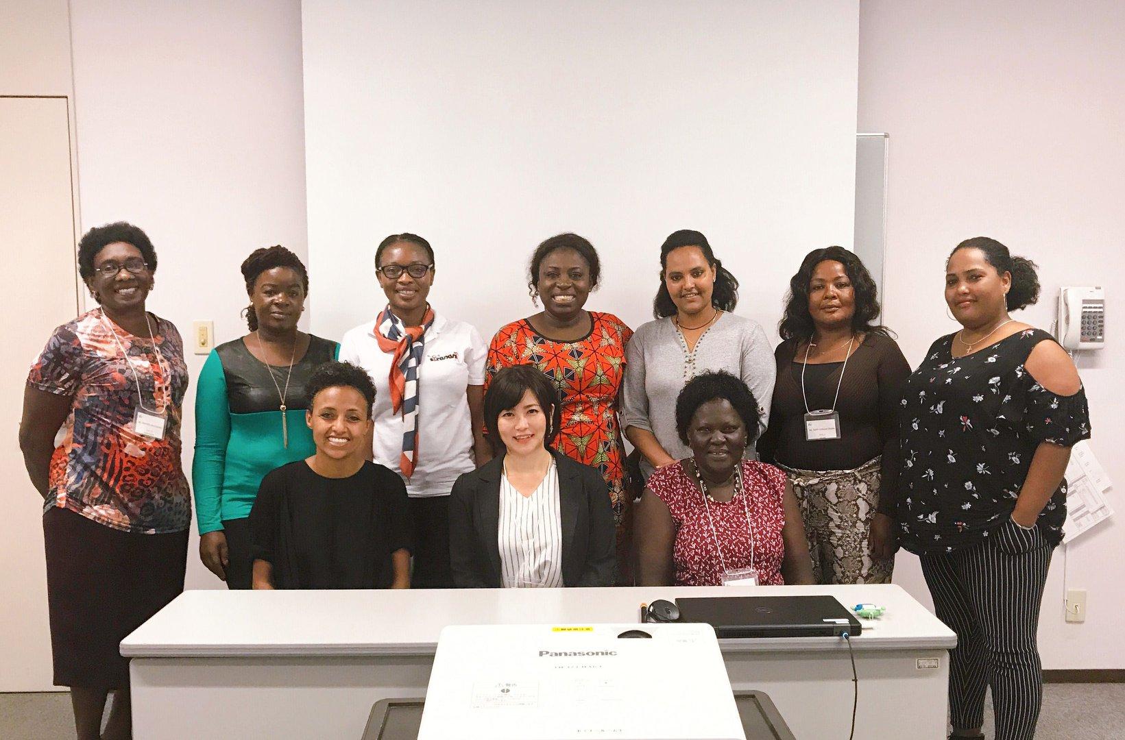 JICA課題別研修「日アフリカ・ビジネスウーマン交流セミナー」