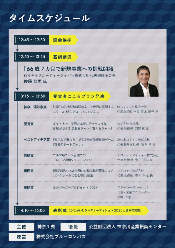 神奈川シニア起業家ビジネスグランプリ